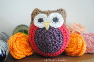 Lil stuffed owls free pattern from Cre8tion Crochet, thanks so xox**Another Cutie!**