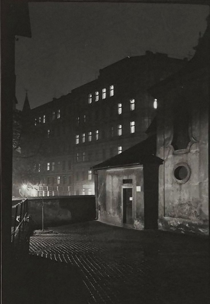 Prague at Night 1958