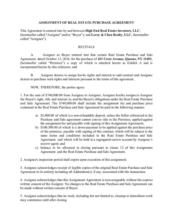 Assignment Of Real Estate Purchase Agreement For Use By Wholesalers Disclaimer Attorney Advertisi Wholesale Real Estate Contract Template Purchase Agreement