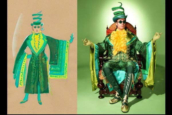 Wicked: the Musical - Costume design