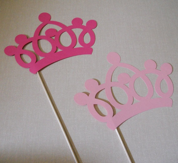 crown on a stick. photobooth prop