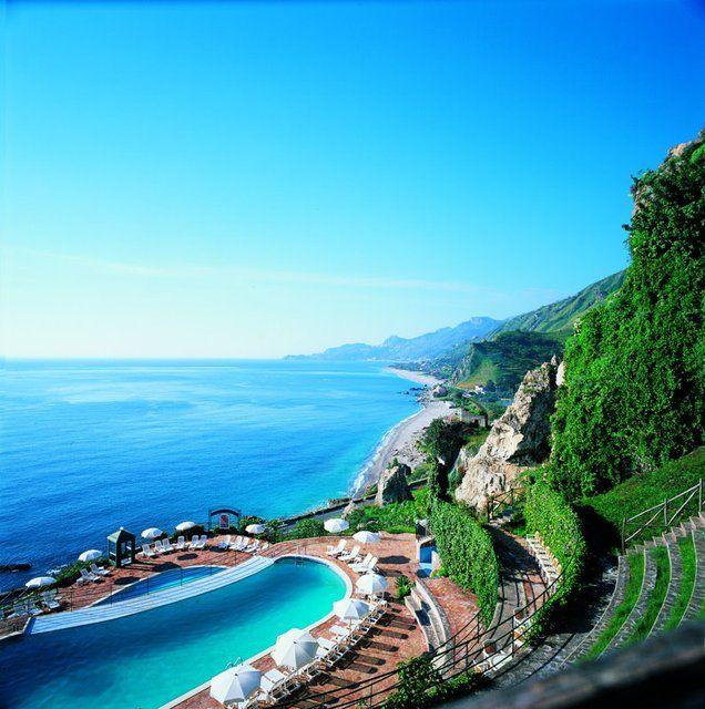 Baia Taormina Grand Palace Hotel in Sicily, Italy