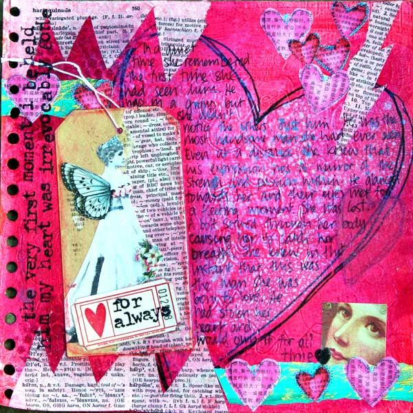 57 best images about collage ideas on pinterest for Color collage ideas