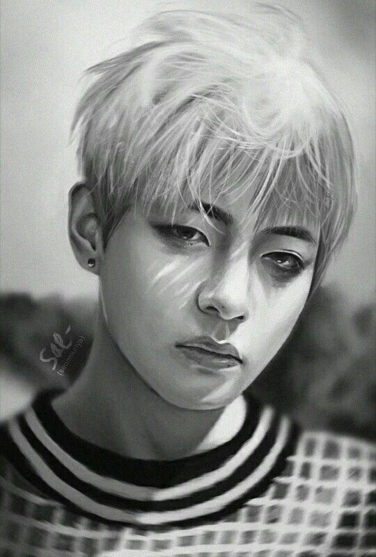 BTS / FanArt / Taehyung / Young Forever