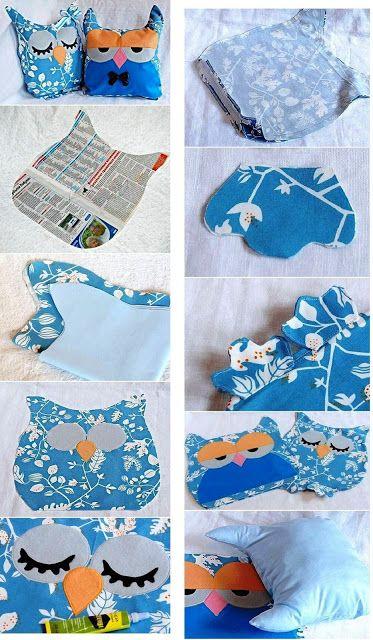 http://artescomcapricho.blogspot.com.br/search/label/Coruja de tecido-PAP