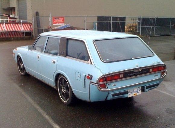 72 Toyota Crown Custom