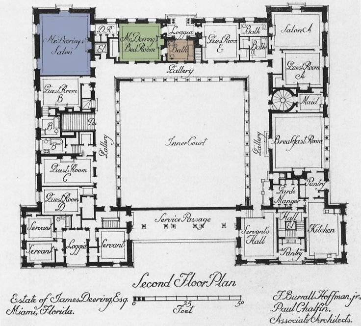 5364 best great house images on pinterest castles floor plans villa vizcaya a gilded oasis on biscayne bay florida verve malvernweather Image collections
