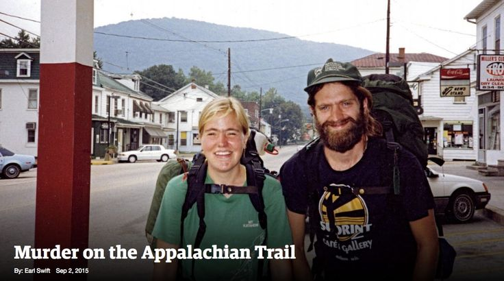 """""""This is such a sad and moving story – a true crime article that is also a piece of adventure writing. The author was walking the Appalachian Trail back in September 1990 when a young couple he'd met en route were brutally murdered in one of the trail shelters.""""The writer captures the blissful freedom of hiking the trail, and the safety the hikers felt there – which makes the murder all the more devastating and poignant. You can't help feeling that something this terrible just shouldn't…"""