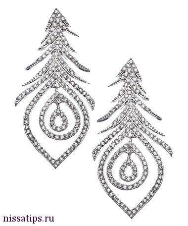 Join nissatips.ru to buy it. Хочу/могу рубрика в моем блоге и помощь в покупке! Серебряные серьги перья с цирконами!