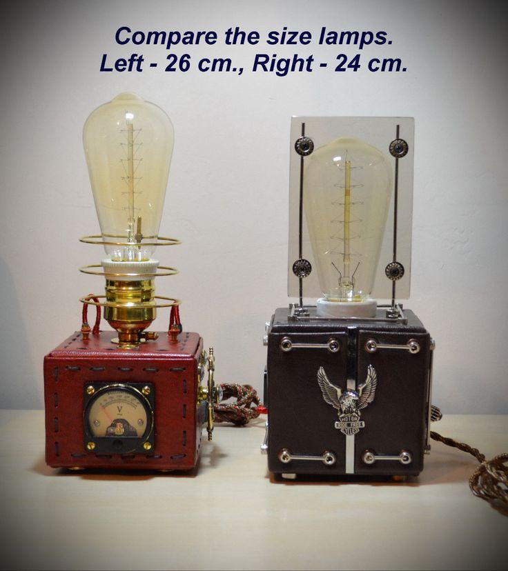 Oltre 1000 immagini su steampunk lamps su Pinterest  Lampade Industriali, Steampunk e Lampade ...