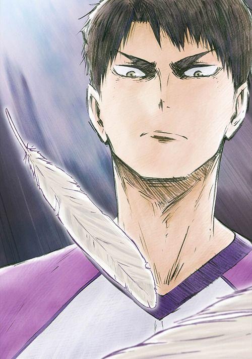 haikyuu!!: karasuno koukou vs shiratorizawa gakuen koukou   Tumblr