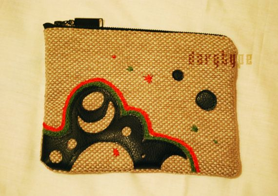 beige purse by Dargtype on Etsy