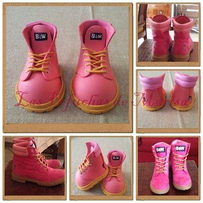 Botas rosas