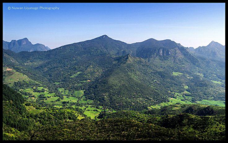 Mini Worlds End, Knuckles Forest Reserve, Central Province, Sri Lanka #SriLanka #Mountains #Knuckles #MiniWorldEnd