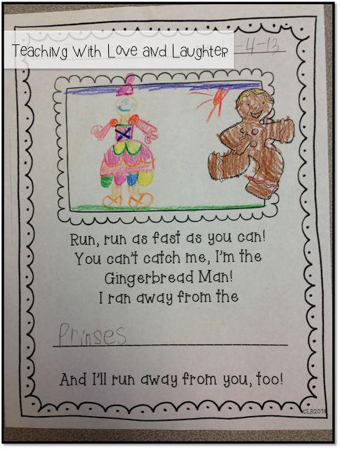 Gingerbread Writing Freebie!