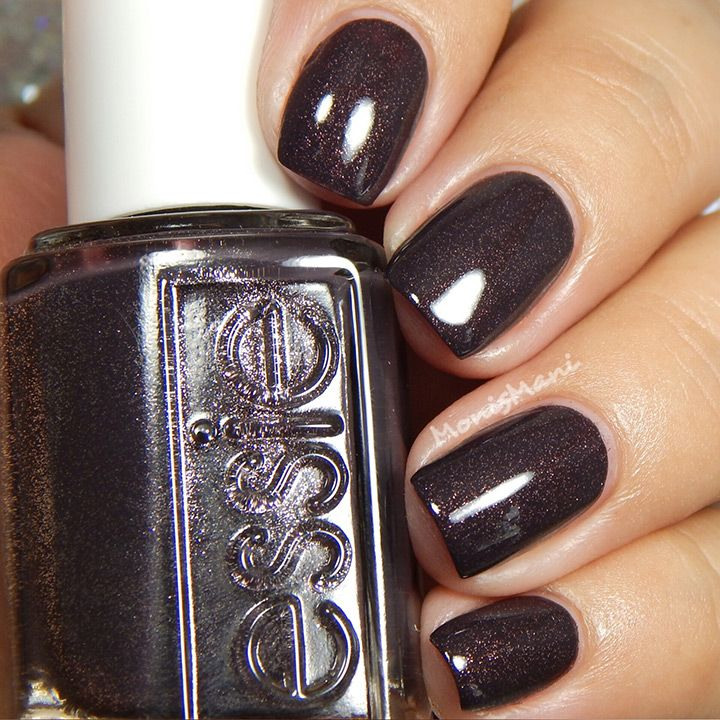 shimmery mocha nails...so pretty! ~  we ❤ this! moncheribridals.com