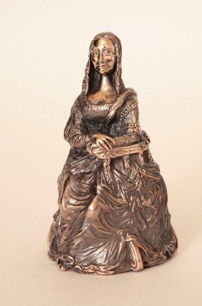 Mona Lisa Bronze Bell