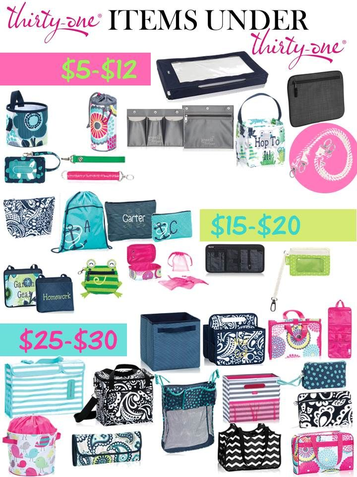 Thirty-One Gifts - Spring 2015! #ThirtyOneGifts #ThirtyOne #JewellByThirtyOne #Monogramming #Organization