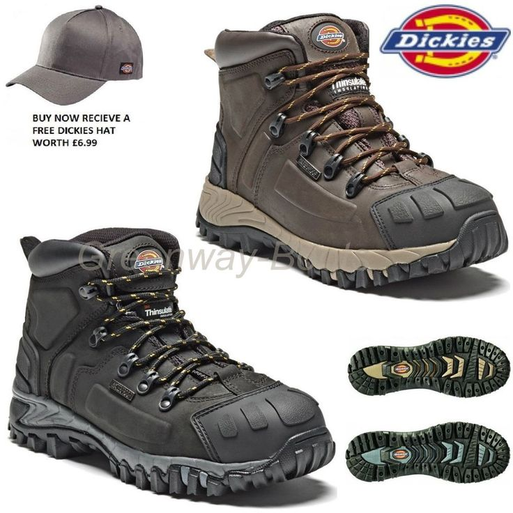 · Dickies Safety Work Boots. · Dickies Medway super safety hiker FD23310S3 SRA. · Scuff cap and heal guard. Dickies are the world's largest workwear manufacturer founded in 1922 in Fort Worth, Texas. | eBay!