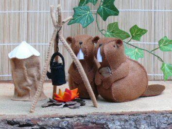 Beaver camp - Coffee time
