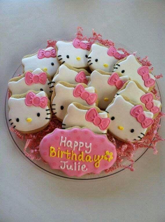 Galletas de Hello Kitty