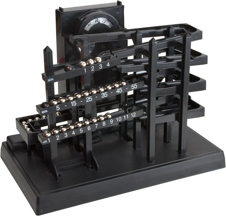 can you imagine time machine tabletop clock