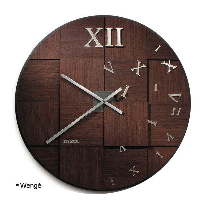 Orologi da parete legno - Orologi componibili da parete ...