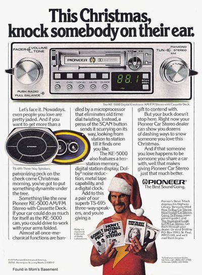 Wow! I had one of these in a car once.