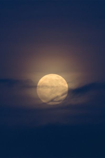 the simple yet exquisite joy of embracing the glow of a full moon