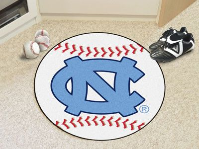 Baseball Mat - University of North Carolina Tar Heels NC Logo