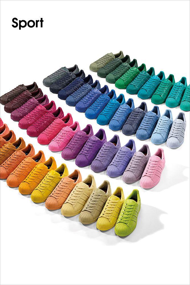 adidas • Ein wahrer Superstar kennt die Bedeutung von Individualität. Er folg…