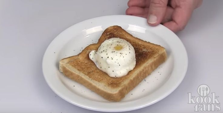 Met dit trucje maak je perféct gepocheerde eieren! Hoe je het doet is echt een eitje!