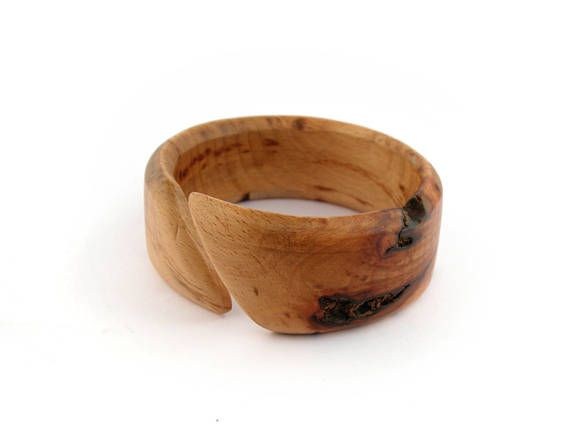 Olive wood bracelet cuff bangle wooden bangle wood bangle