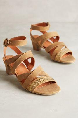 Schuler & Sons Sandra Gladiators Brown Shoes #anthrofave