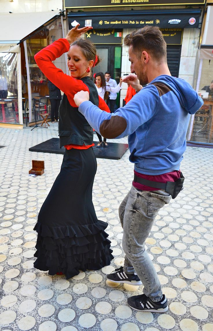 Lasse Persson - Flamenco on the streets of Malaga, Spain
