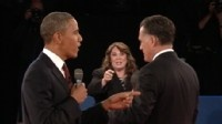 #153 Oct. 17-Candy Crowley Defends Her Libya Comment During Presidential Debate; Candy Crowley Reins In Obama, Romney Watch Video