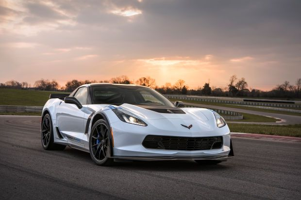 Chevy Is Celebrating 65 Years Of Americas Most Iconic Sports Car With a Carbon Fiber-Trimmed Corvette