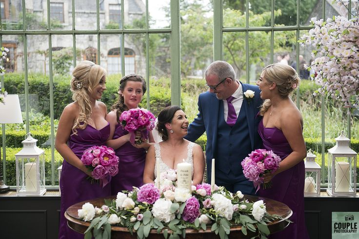 The book has been signed with the girls signatures. Weddings by Couple Photography. www.couple.ie