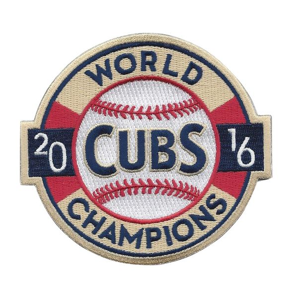 Chicago Cubs 2016 World Series Champions Banner Patch  #ChicagoCubs #Cubs #FlyTheW #MLB #ThatsCub