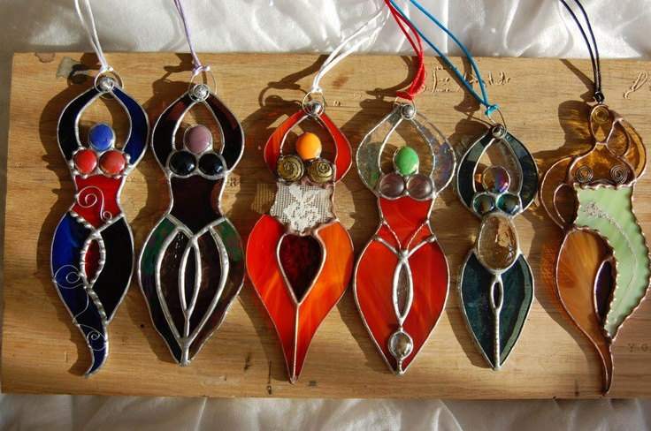Each one is unique and made specifically for the intended Goddess :-)
