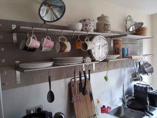 #Kitchen #industrial