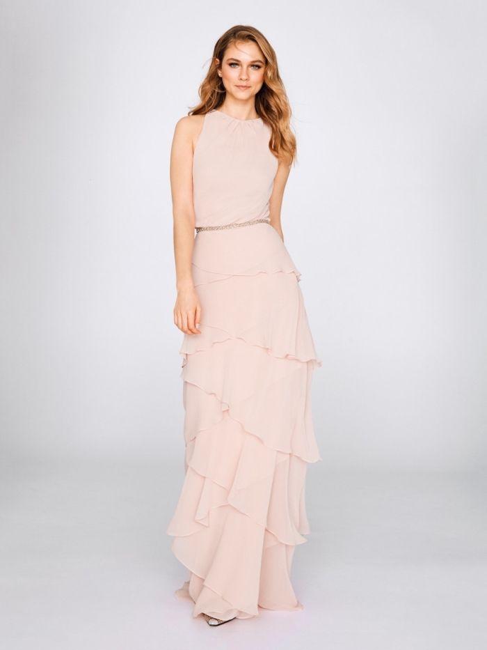 51 Modeles De La Robe De Soiree Pour Mariage Robe De Mariee Rose Chic Robes Courtes Modele Robe De Soiree