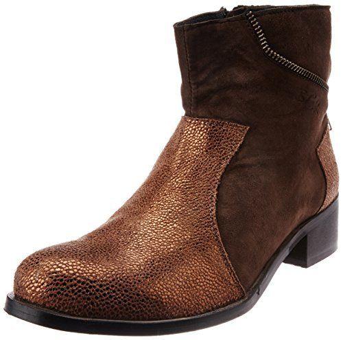 Buckaroo Women's Sofia Gold Boots - 4 UK