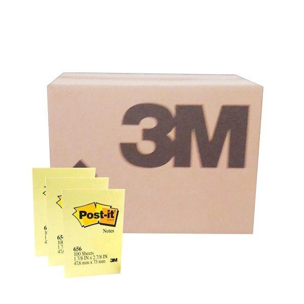 """Post-it Canary Yellow 656 (grosir) - Kertas Memo Unik Merk 3M di Jual dg Harga Lebih Murah  2"""" X 3"""" Post-it Canary Yellow 100 sheets/pad     (144 Pad/Ctn)  Harga per Ctn  http://tigaem.com/post-it-grosir/943-post-it-canary-yellow-656-grosir-kertas-memo-unik-merk-3m-di-jual-dg-harga-lebih-murah.html  #postit #notes #memo #3M"""