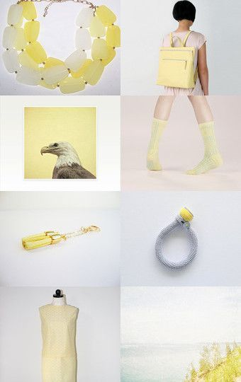 Yellow gifts by twomoons on Etsy--Pinned with TreasuryPin.com