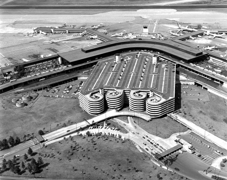 Sea Tac International Airport Parking Garage 1969