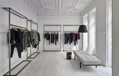 CJC Commercial Interiors | FASHION SHOWROOM | Lisbon | by Cristina Jorge de Carvalho Interior Design