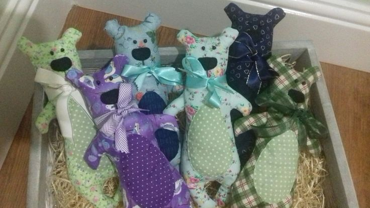 Lavender filled bears