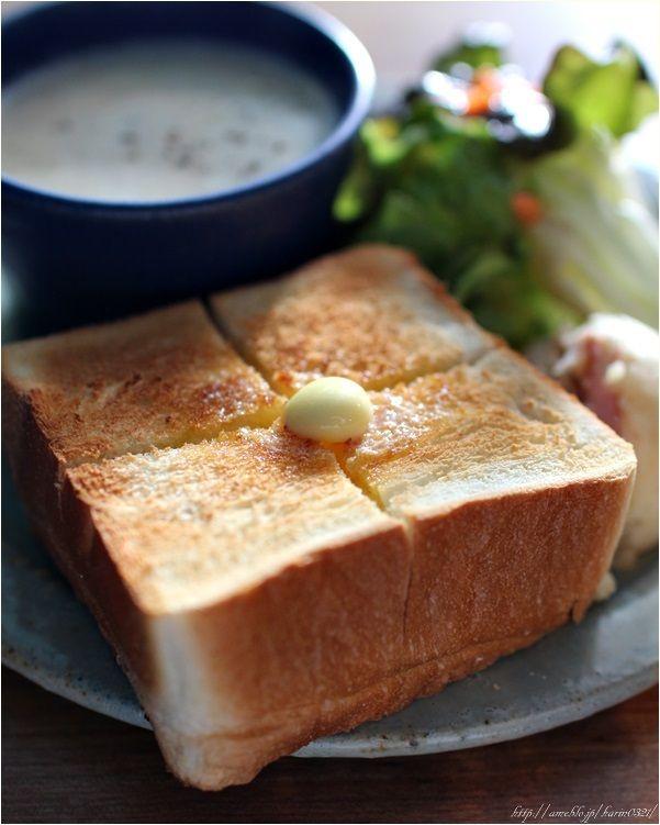 Cafe Lunch 厚切りトースト