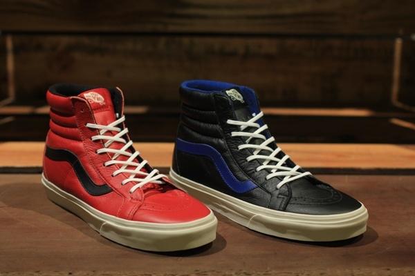 Vans Sk8-Hi Reissue Leather